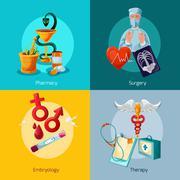 Medical Icons Set Stock Illustration