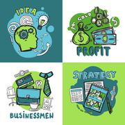 Stock Illustration of Business Design Concept