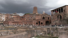 Stock Video Footage of Italy - Ancient Rome Shopping Trajan's Market