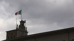 Rome - Italy - Quirinale Palace Stock Footage