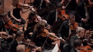 Stock Video Footage of Orchestra with violins-001