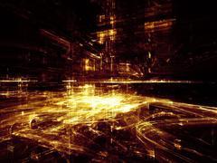 Stock Illustration of Shining City