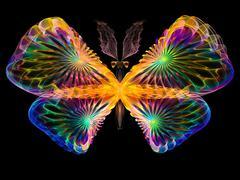 Stock Illustration of Vibrant Butterfly