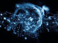 Stock Illustration of Cellular Universe