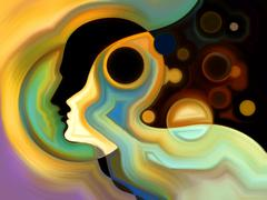 Stock Illustration of Visualization of Inner Paint