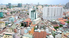 Time Lapse of Clouds and Shadows Passing over Ho Chi Minh City (Saigon) Arkistovideo