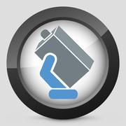 Beverage packaging - stock illustration