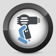 Dryer icon - stock illustration