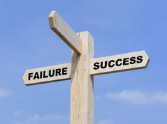 Success Failure Stock Illustration