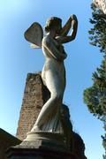 Non-Catholic Cemetery in Rome - stock photo