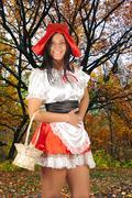 Red Riding hood Stock Photos