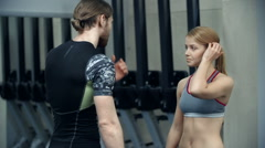 Front Squat - stock footage