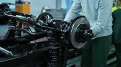 Assembly-line Stock Footage
