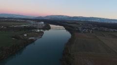 Rhône Genève - stock footage