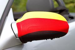 Car Wing Mirror Kuvituskuvat