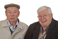 Elder Couple Stock Photos