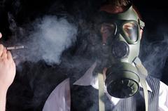 Toxic environment - stock photo