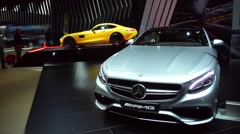 Mercedes-Benz S-Class S65 AMG coupe Stock Footage