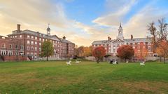 Harvard Moors Hall - stock photo