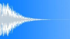 Heavy Cinematic Drum Hit 7 (Epic, Tension, Glitch) - sound effect