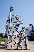 Downtown Houston sculpture Kuvituskuvat