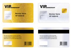 Stock Illustration of VIP MEMBERSHIP CARD