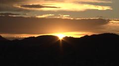 Juarez sunset Stock Footage