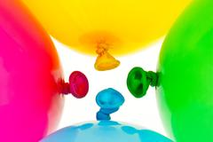 Stock Photo of colorful balloons.
