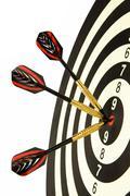 Darts with dart Stock Photos