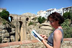 Spain, andalusia, ronda Stock Photos