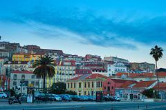 Alfama skyline, Lisbon - stock photo