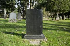 Grave Stone - stock photo