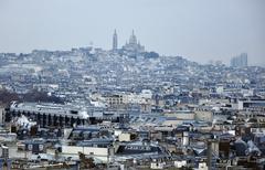 Paris - France Basilique Du Sacre Coeur. Stock Photos
