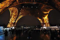 Paris - France Eiffel Tower - stock photo