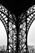 Paris - France Eiffel Tower. - stock photo