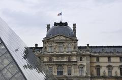 Paris - France Musee du Louvre Stock Photos