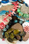 Natural gems Stock Photos
