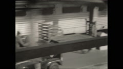 Denver Train Platform - stock footage