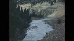 Mountain Creek Color Film Stock Footage