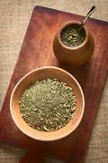 South American Mate Tea Stock Photos