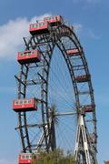 austria, vienna, ferris wheel - stock photo
