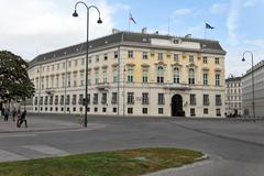 Stock Photo of austria, vienna, federal chancellery