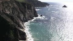 California Coastal Landscape Stock Footage