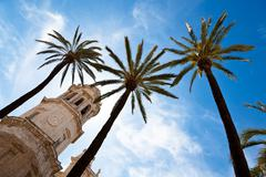 spain, andalucia, cadiz - stock photo