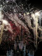 Stock Photo of The famous Wishes nighttime spectacular fireworks