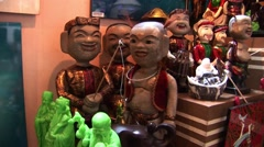 Vietnamese Statues for sale Stock Footage