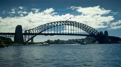 Sydney Harbour Bridge 4K Stock Footage