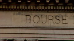 Bourse de Commerce de Paris, Commodity exchange - stock footage
