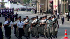 Tanks, Military Parade, Bastille Day Stock Footage