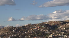 Bordertown Clouds Timelapse Stock Footage